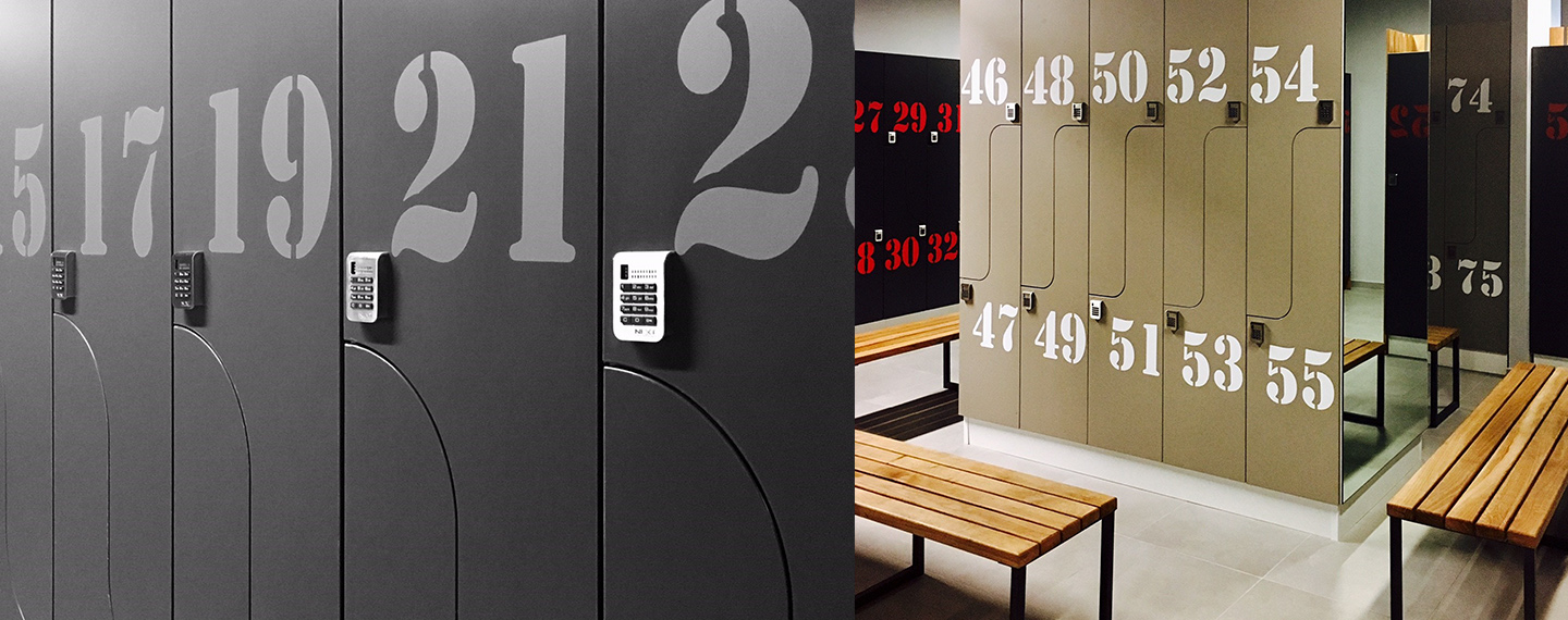 Digilock 4G Electronic Locks at Croatia Fitness
