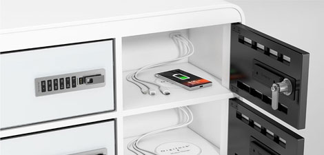 JuiceBar: Charging Lockers