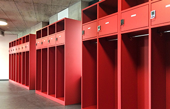 Staff Locker Rooms