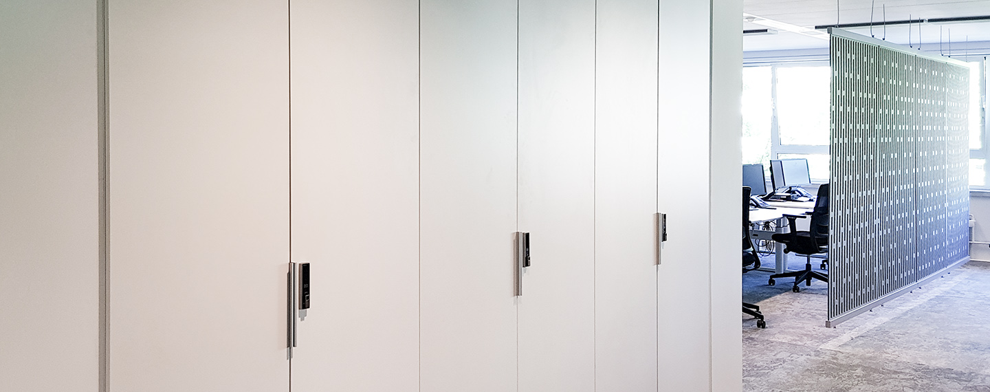 Versa RFID on Cabinets in City Hall Amsterdam